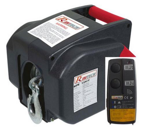 -TREUIL ELECTRIQUE 12V 1800 KGS (TREUILELEC)