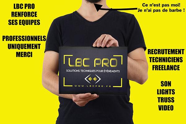 LBC PRO RECRUTE TECHNICIENS FREELANCE.jp