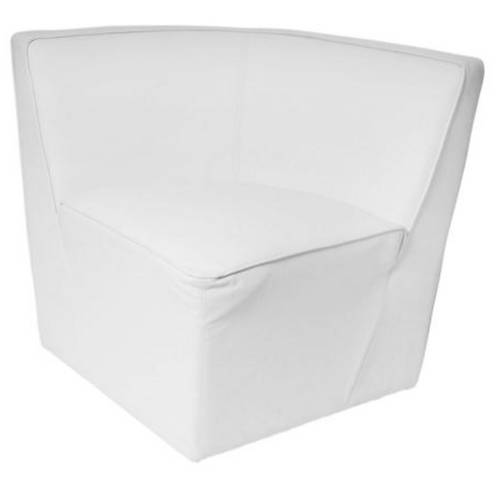 BANQUETTE LOUNGE BLANCHE ANGLE (BANQUETTEANGLE)