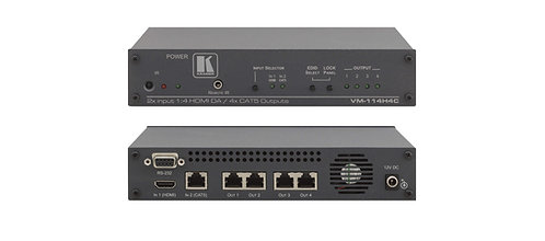 -DISTRIBUTEUR HDMI DG KAT KRAMER (VM114H4C)