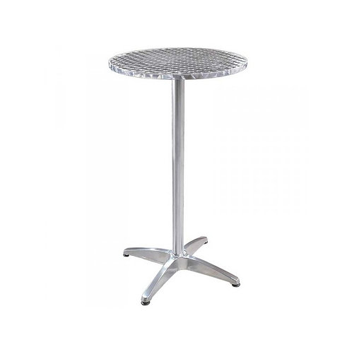 -TABLE DE BAR MANGE DEBOUT BAR (TABLEHAUTECHROME)