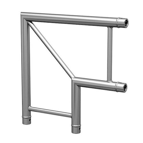 -STRUCTURE ALU ANGLE 2 DEPARTS 90° PLAT DUO (DUOANGLE2D)