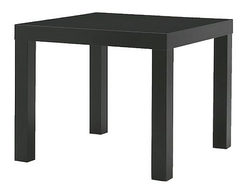 TABLE BASSE NOIR OU BLANC  (TB1)
