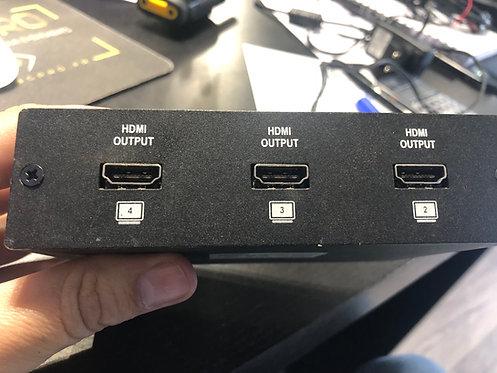 -REPARTITEUR HDMI ERARD 1 ENTREE 4 SORTIES (HDMI4)