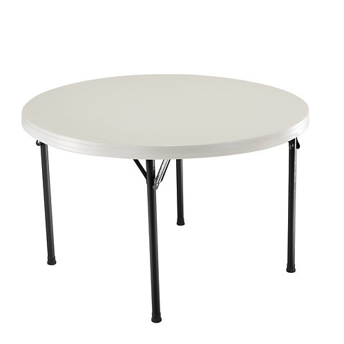 -TABLE PLIANTE RONDE DIAMETRE 122CM (TABLE122)