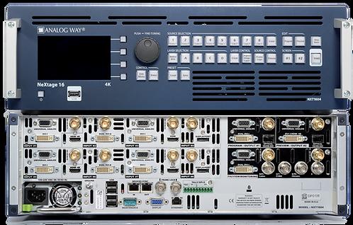 -Mélangeur multi-écrans ANALOG WAY NEXTAGE 16 4K + TELECOMMANDE LIVE (NEXTAGE)