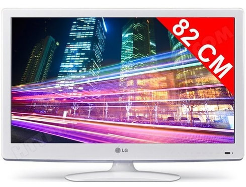 -ECRAN LCD  32 POUCES 82 CM LG (ECRAN32BLANC)