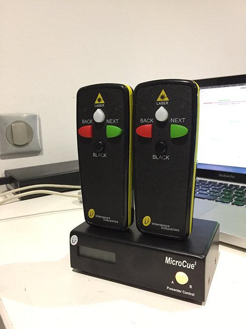 -PAVLOFF HF PRO 2 PC  2 TELECOMMANDES AVEC POINTEUR LASER (PAVTWINLAS)