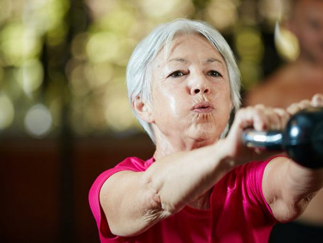 Why Lifting Weights Can Be So Potent for Aging Well