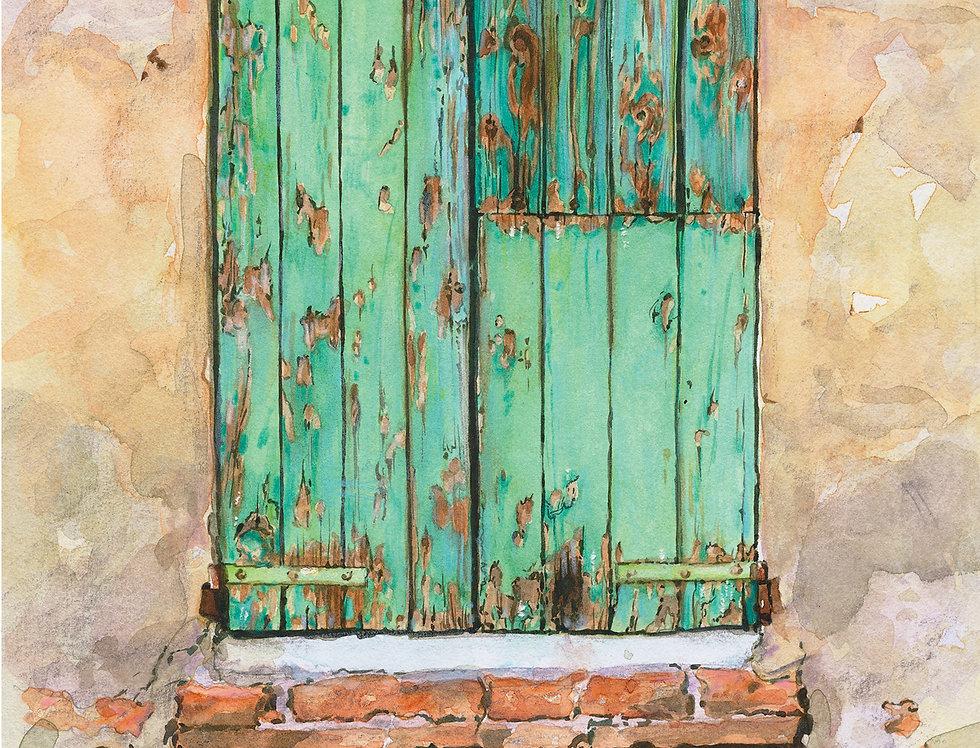 B7. Door Study 5. Castiglion Florentino.