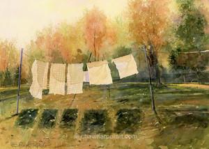 C62. Autumn Wash.