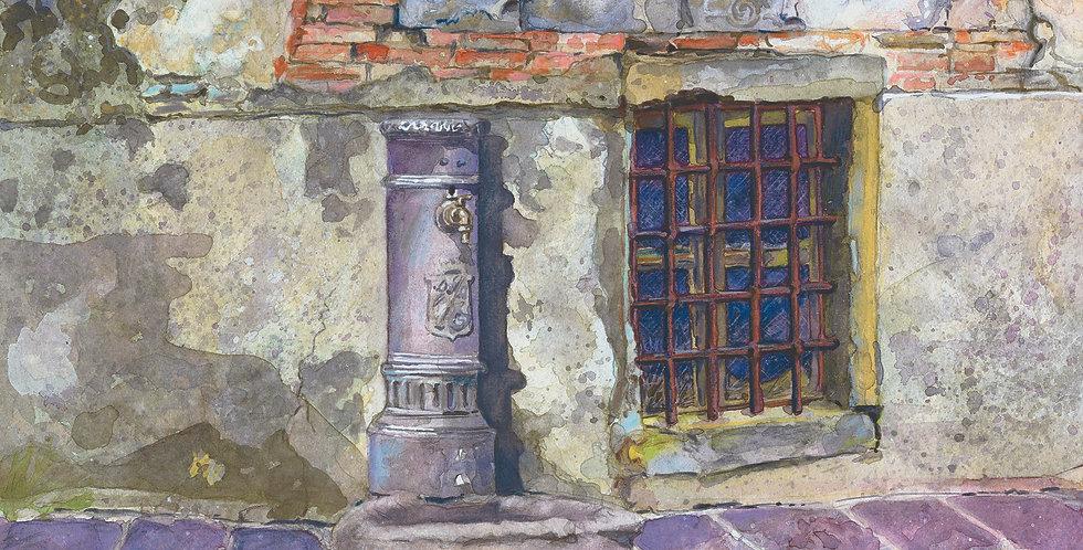 B23. Street Fountain Castiglion Fiorentino