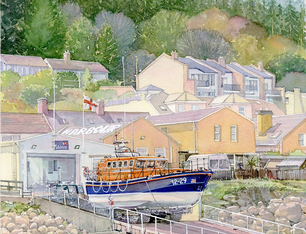 A9. Newcastle Lifeboat.