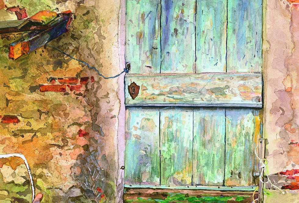 B9. Old Hidden Door 23. Arezzo.