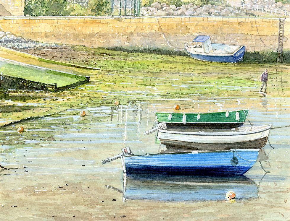A18. Harbour Inn Boats.
