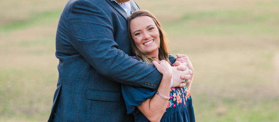Taylor and George | Senoia Engagement