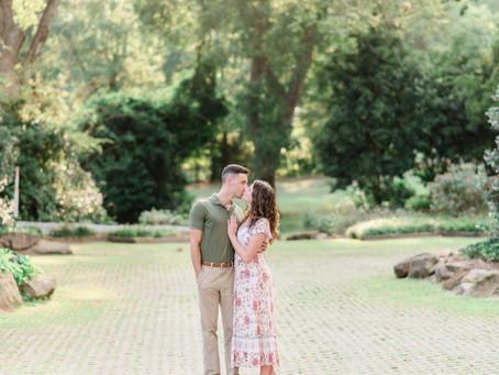 Scarlett and Chris | Downtown Senoia engagement
