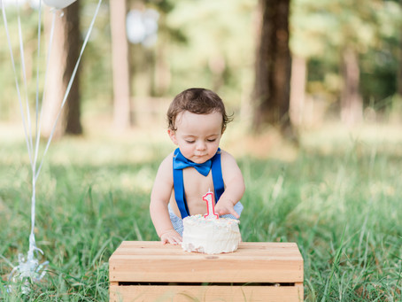 Charlie's Outdoor Cake smash