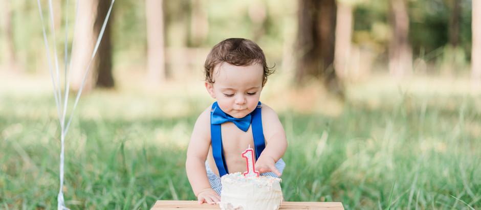 Charlie's Outdoor Cake smash