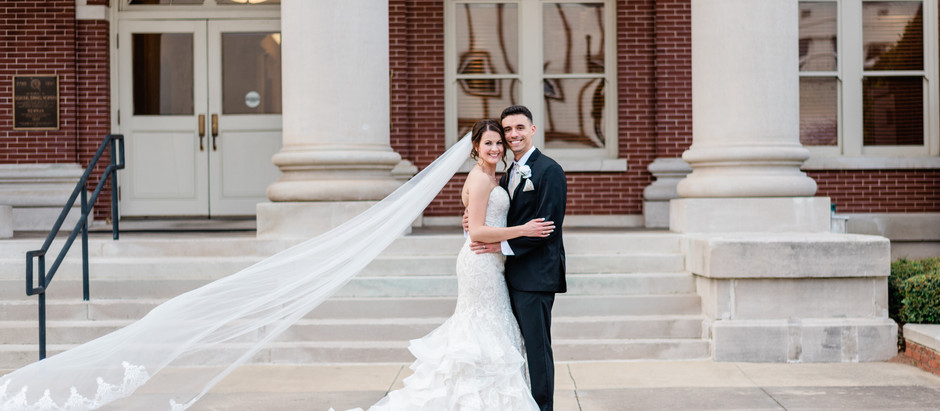 Scarlett and Chris | Historic Newnan Courthouse