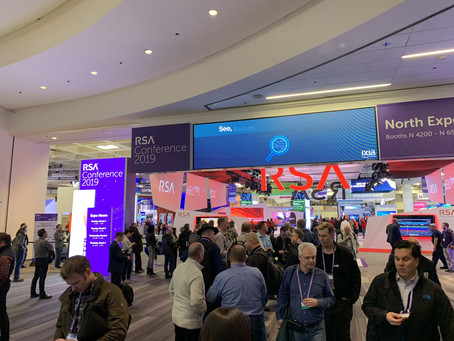 Trends in 2019 for cybersecurity according to the show floor at the RSA Security Conference