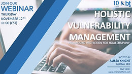 HOLISTIC VULNERABILITY MANAGEMENT