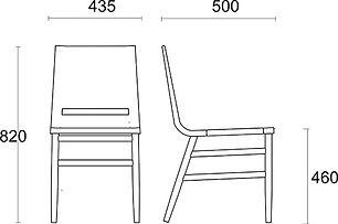krzesło Kimua