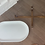 Thumbnail: large oval serving tray with trivet
