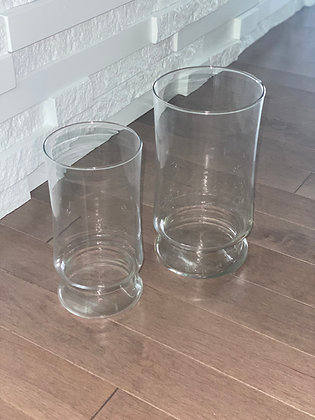 small & large vase duo