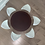 Thumbnail: lazy susan swirl server with porcelain bowls