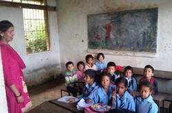 Remote Napalese School