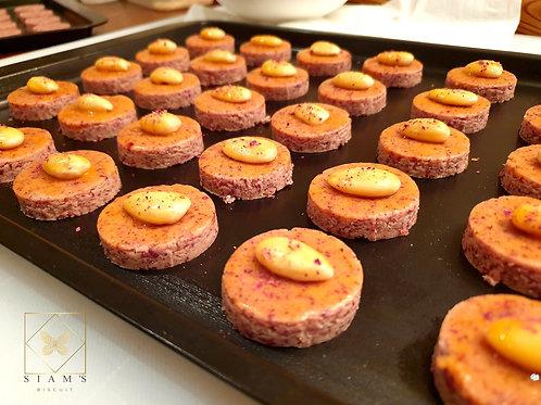 คุ๊กกี้สิงคโปร์กุหลาบอังกฤษ - English Rose Biscuit