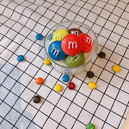 M&M colourful world