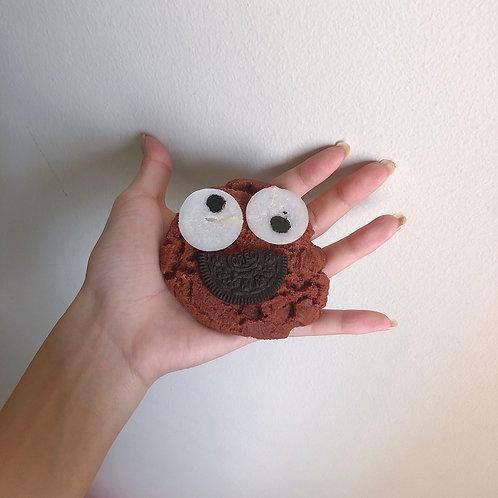 Spooky monster cookie