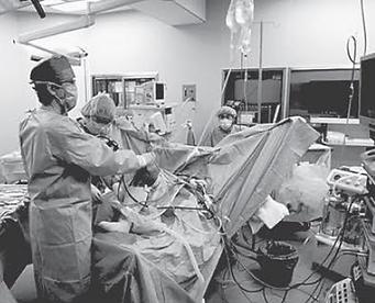 前十字靭帯再建手術の様子