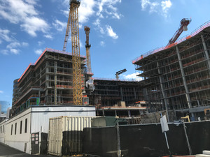 Progress on The Highlands at West Rosslyn!