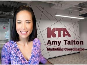 Welcome to KTA, Amy Talton!