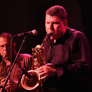 Eric and Don on sax