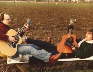 Chris Williams & Mo 1982