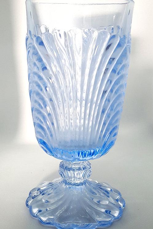 Light Blue Shell Goblet