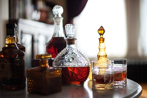 Antique & Vintage Glass Decanters