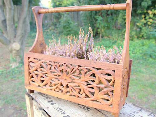 Bohemian Wood Carrier