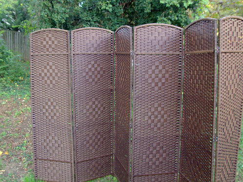 Woven Brown Screen