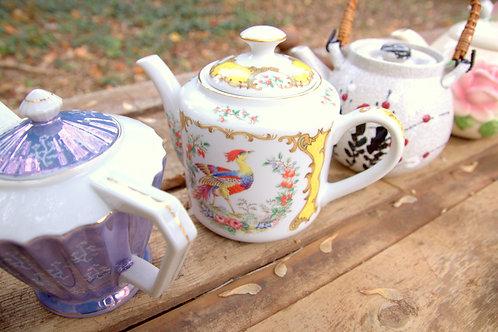 Vintage and Antique Tea Pots