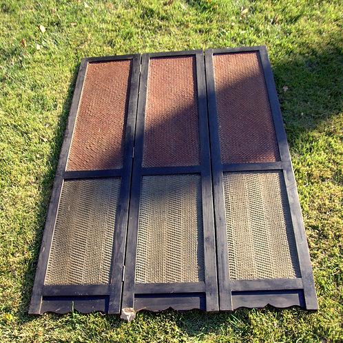 Wood Two Tone Screen