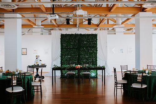 Dark Brown Farmhouse Table