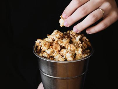 pipocas caramelizadas para acompanhar a noite de Óscares | Oscars' party caramelized popcorn