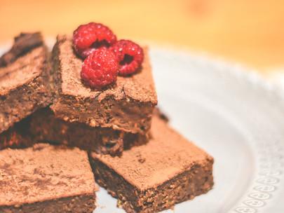 Brownie de Batata Doce e Chocolate