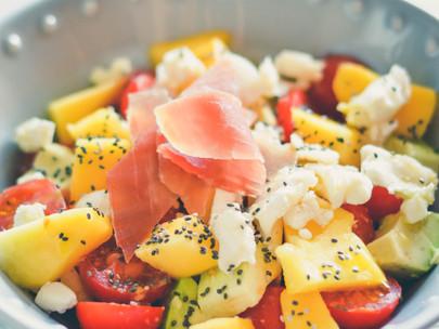 Salada com sabor a Verão!