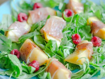 Uma salada de Outono com sabor a Verão!